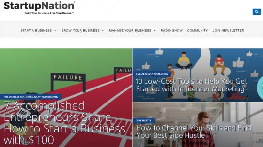 Startupnation: A good start point