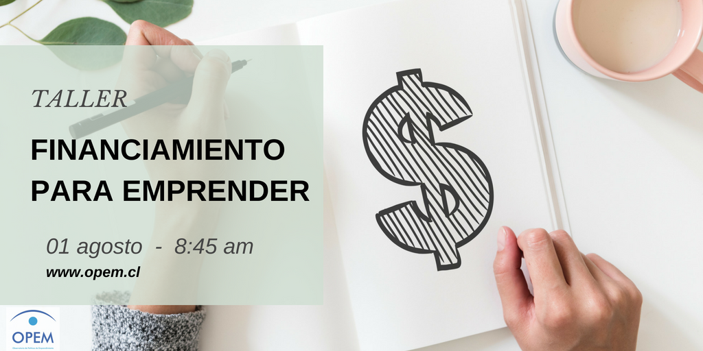 Taller Financiamiento para Emprender
