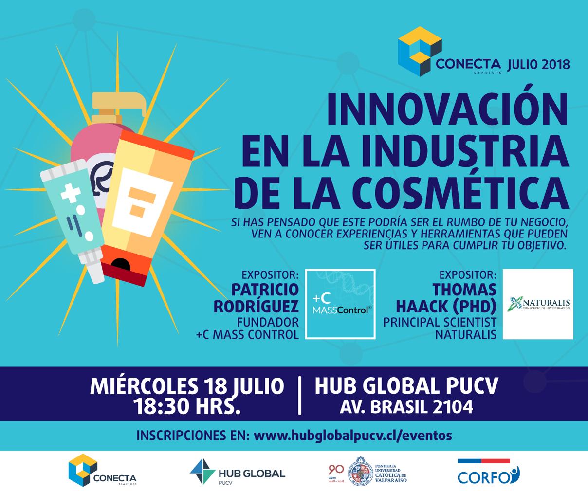 Conecta Startup: Innovación en la industria de la cosmética