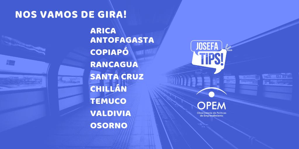 Gira Nacional OPEM y JosefaTips