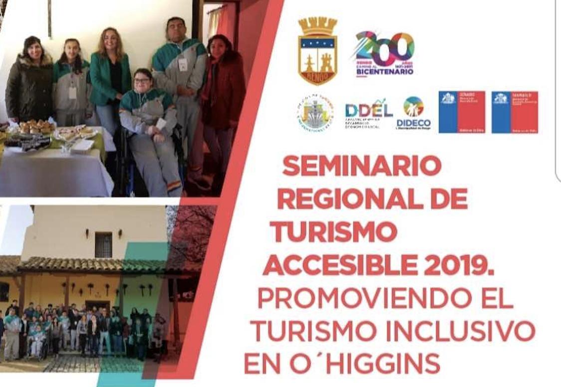 Seminario Regional de Turismo Inclusivo año 2019