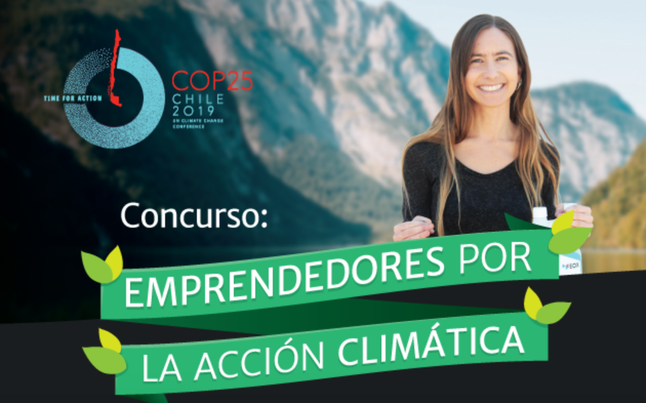 ¡Postula ahora! Concurso Emprendedores por la Accion Climática