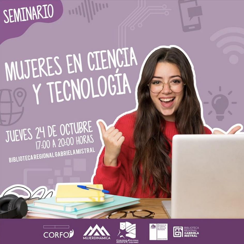 """Encuentro """"Mujeres en Ciencia y Tecnología"""", La Serena"""