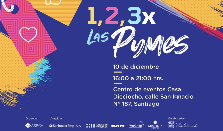 1,2,3 por las pymes – Santiago