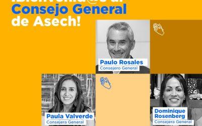 Consejo General Asech recibe a sus nuevos integrantes
