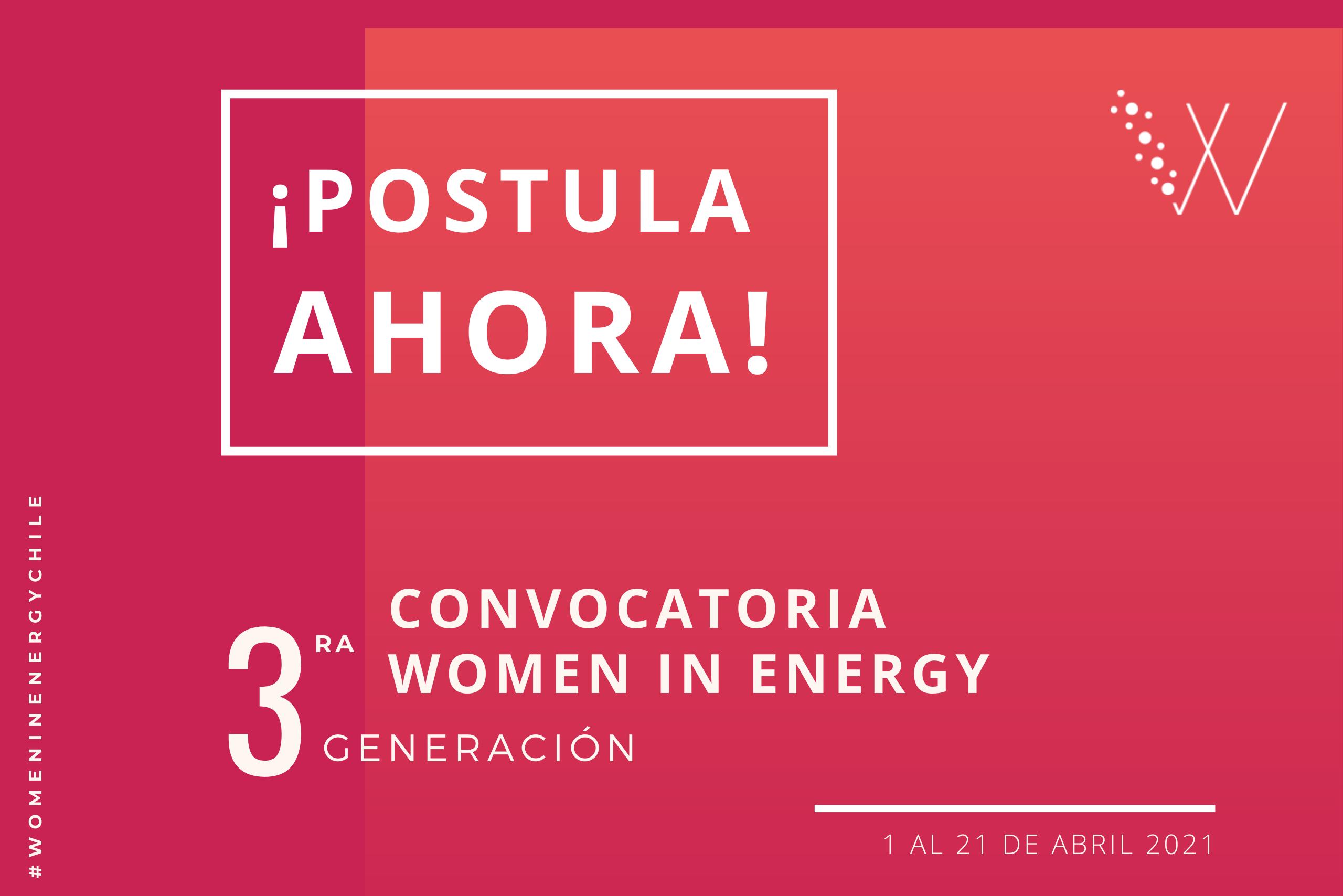 3° Generación de Women in Energy